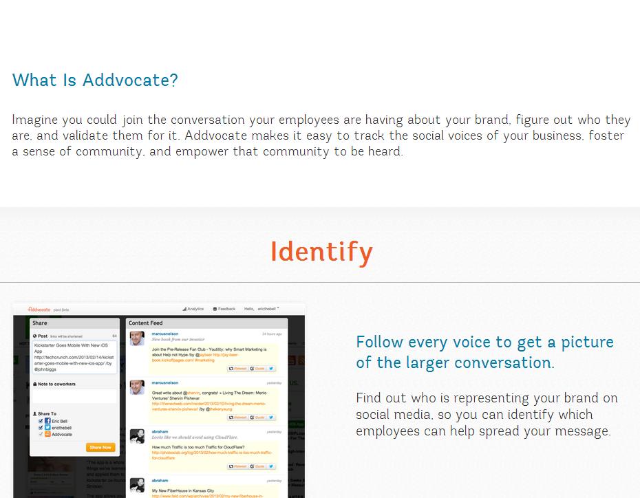 Identify Social Media Tool