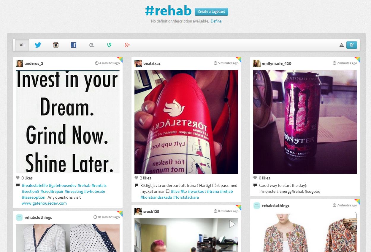 tagboard social media tool