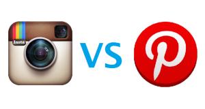 Instragram Versus Pinterest